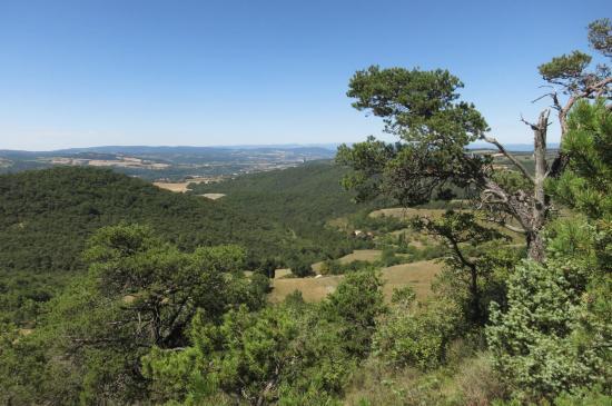 Panorama SW depuis le Serre des Aigles