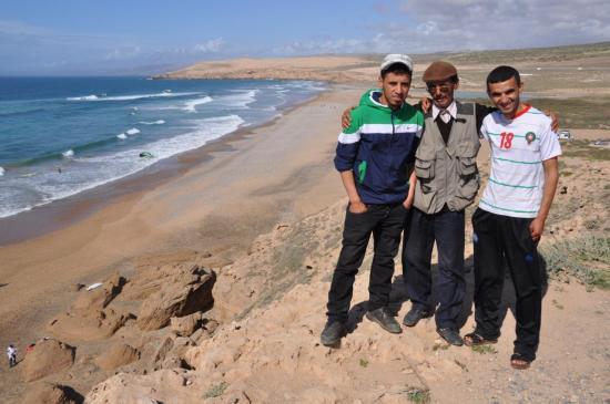 Krimo, M'hamed et Boubacar, l'équipe de choc