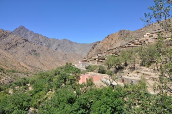 Dans la vallee de l'assif Gourioun