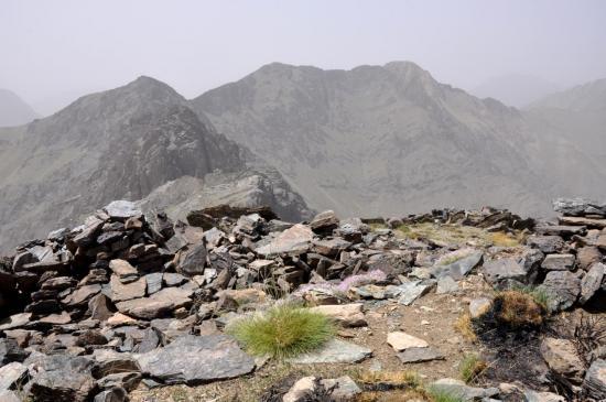Au sommet du Ras Moulay Ali (3349m)