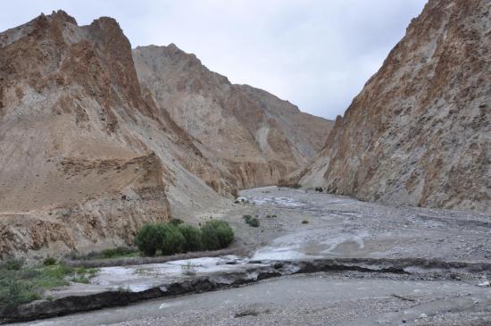 Remontée de la vallée de la Markha