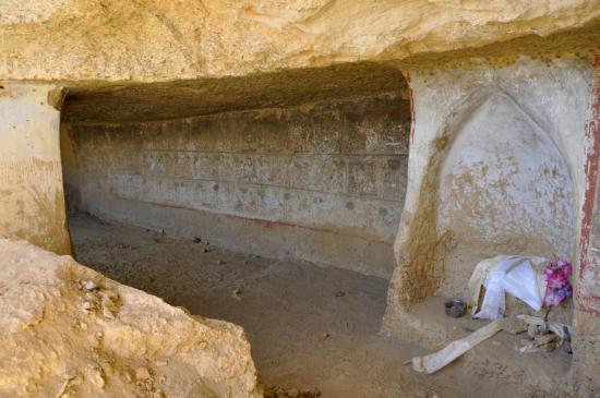 L'intérieur de la grotte de Koncholing