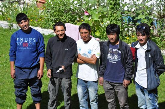 L'équipe ladakhie au complet