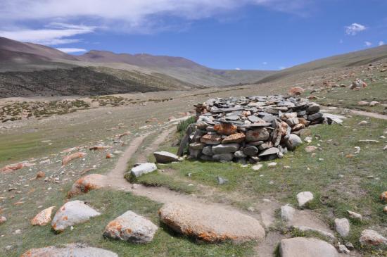 Sur le plateau du Nyimaling
