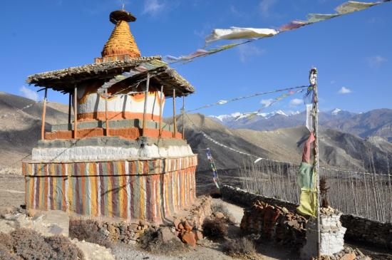Le chorten de Chhunkar