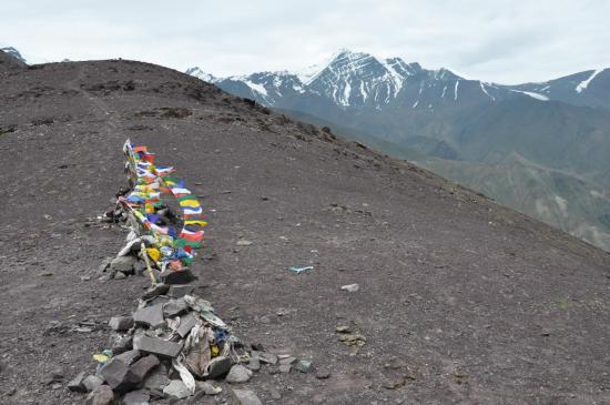 Passage au Matho La (4930m)