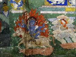 Schipsho (Sipai Gyalmo (Reine du monde), manifestation terrible de Sherab Chamma)