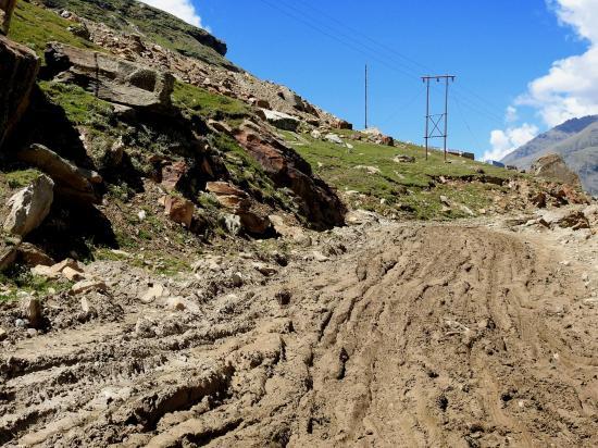 Entre Chhatru et Gramphu, c'est le royaume de la boue !