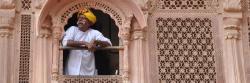 Au palais de Mehrangarh à Jodhpur
