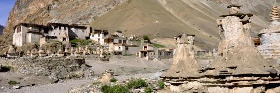 Le village de Kanji au départ de la Grande Traversée du Zangskar