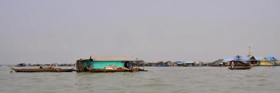Kompong Luong (Tonle sap - Cambodge)