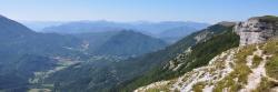 La vallée de Quint depuis le plateau d'Ambel