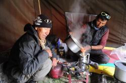 Ladakh2019 equipe cuisine