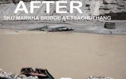 Le pont de la markha apres