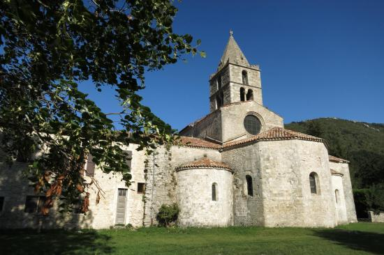 L'abbaye cistercienne de Léoncel