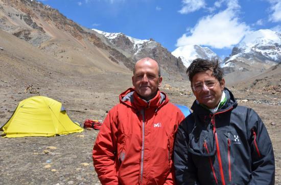 Les 2 alpinistes du groupe