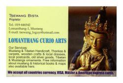 Lo Manthang Curio Arts