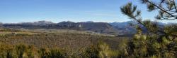 Panorama sur le Vercors depuis Côte Blanche