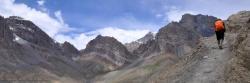 Montée au Kyupa La (Ladakh)