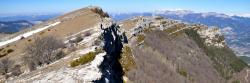 Sur la montagne de Praloubeau