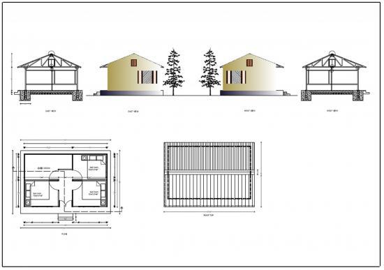 Projet maison bolde
