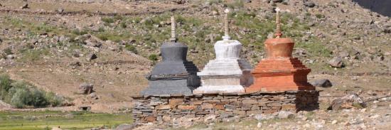 Rinzum Gönpo à Reru (Zanskar - J&K)
