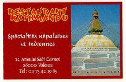 Restaurant kathmandu valence