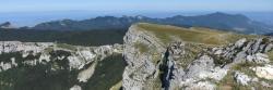 Au sommet du Roc de Toulau
