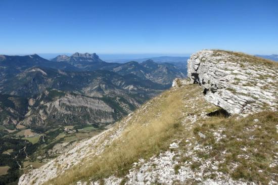 Au sommet de la Servelle