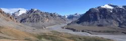 Les sources de la Tsarap chu (versant N des montagnes du Spiti)