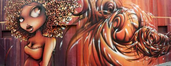 Oeuvre d'art de la rue des Grands Moulins