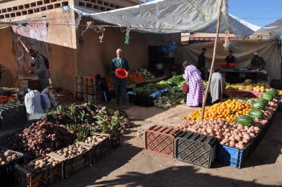 Le souk du mercredi à Talat n'Yakoub