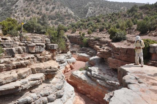 Découverte d'un canyon du côté de Tamgalt