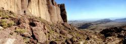 Les falaises du Tassigdelt