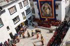 Tiji festival à Lo Monthang