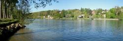 La vallée de la Seine du côté d'Héricy (Seine-et-Marne)