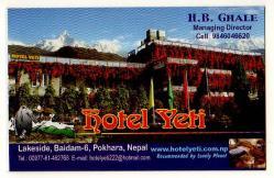 Yeti hotel pokhara