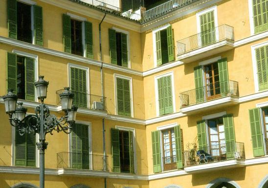 La place San Jaime à Palma