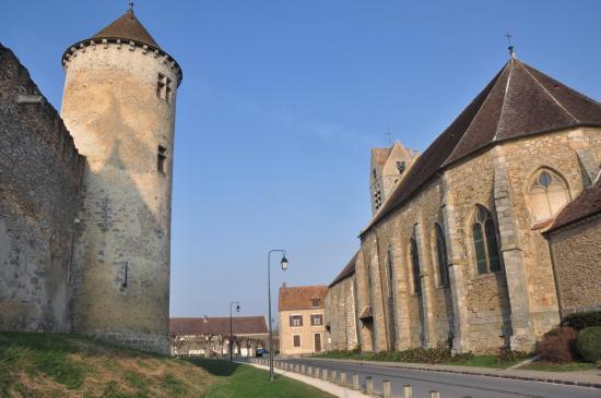 Les lices du château de Blandy-les-Tours