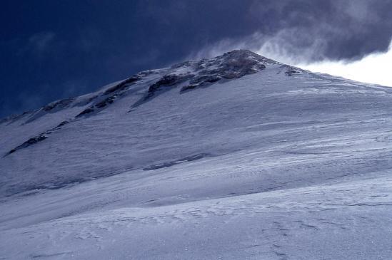 Le glacier du Geay et le sommet du Mont-Pourri