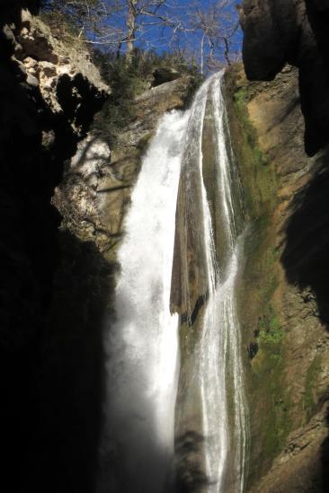La cascade de la Druise
