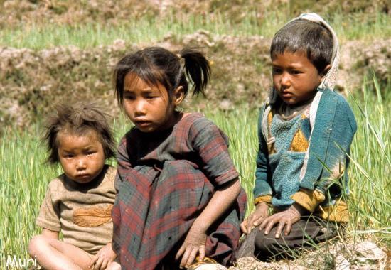 Enfants à Muri