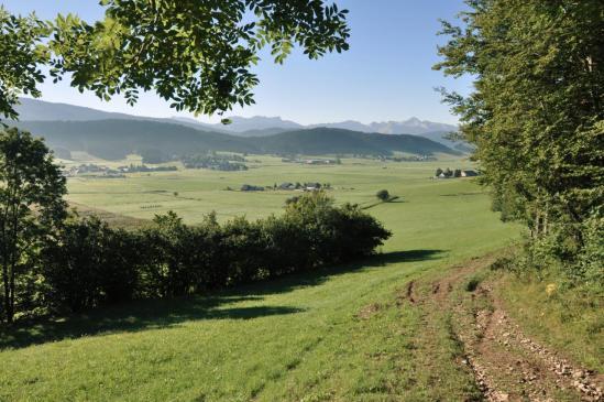 Le plateau d'Autrans