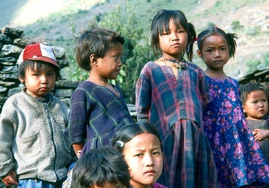 Enfants à Philim