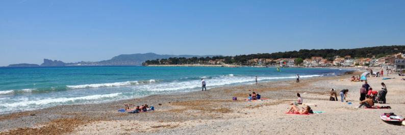 Le front de mer de Saint-Cyr