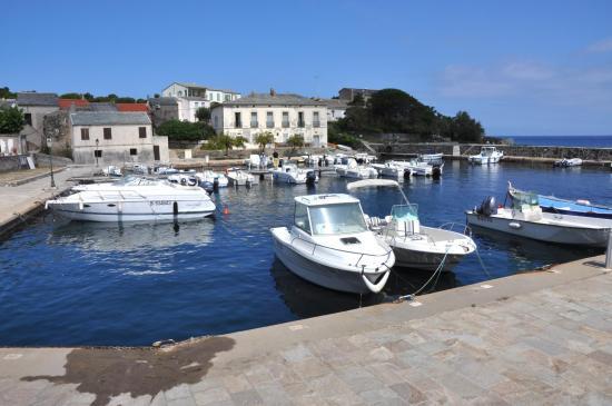 Le port de Barcaggio