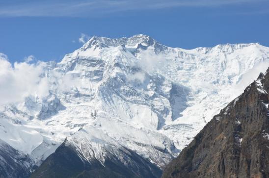 L'Annapurna II depuis Ghyaru