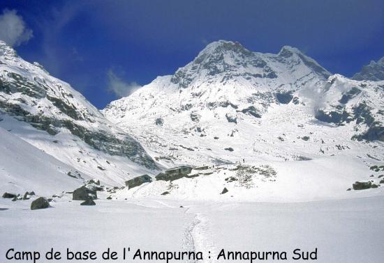 Le sanctuaire de l'Annapurna (Annapurna S)