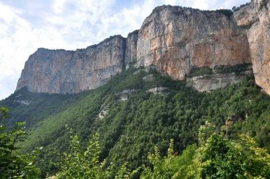 Les falaises de Presles