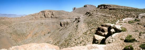 Au tizi n'Asdrem Tessaout (3100m)